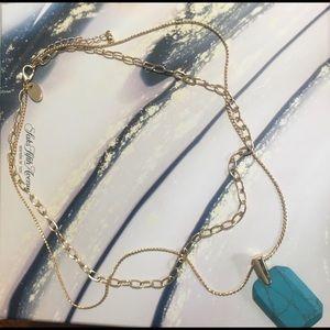 ✨Last One Saks Ava & Aiden Turquoise Necklace